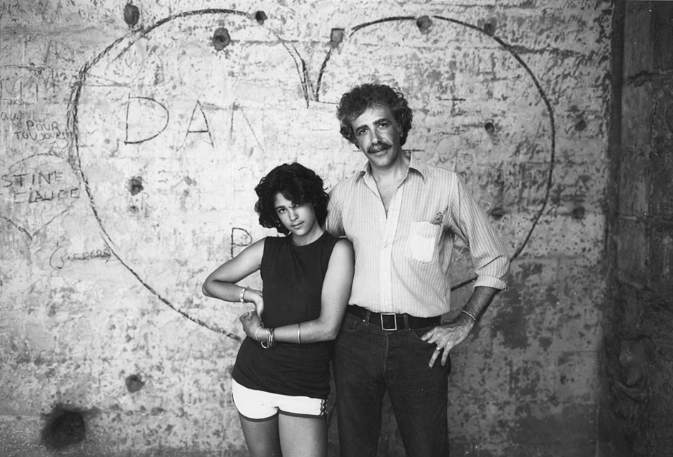Giulie & Don, Arles, France, 1981