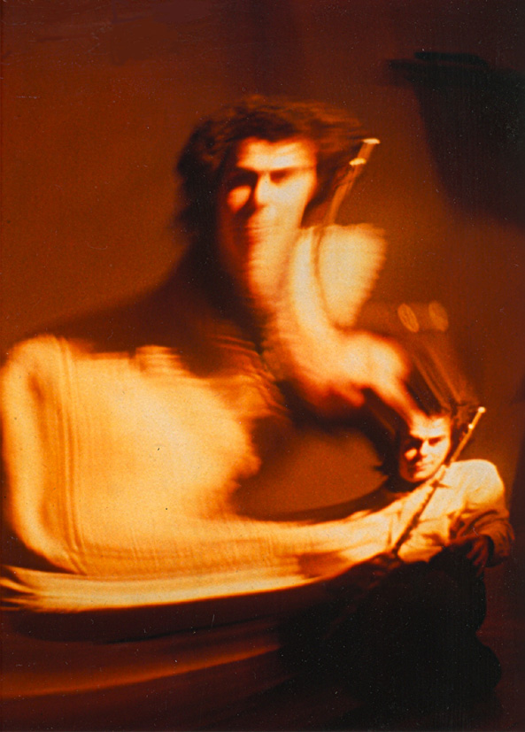 Robert Dick, Flautist, 1981, photo DF